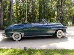 1952 PLYMOUTH CRANBROOK CONVERTIBLE - Side Profile - 19399