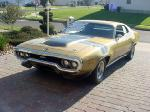 1971 PLYMOUTH GTX 440 SIX PACK HARDTOP - Front 3/4 - 19438