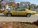 1971 PLYMOUTH GTX 440 SIX PACK HARDTOP - Side Profile - 19438