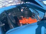 1955 CHEVROLET BEL AIR CONVERTIBLE - Engine - 19482