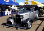1932 FORD STREET ROD CONVERTIBLE - Front 3/4 - 19574