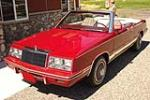 1984 CHRYSLER LEBARON CONVERTIBLE - 198820