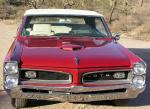 1966 PONTIAC GTO CONVERTIBLE - Side Profile - 20009