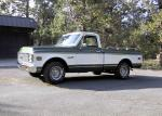 1972 CHEVROLET C-10 FLEETSIDE PICKUP - Front 3/4 - 20047