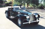1954 MG TF ROADSTER - Front 3/4 - 20296