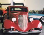 1934 FORD 3 WINDOW COUPE - Side Profile - 20301