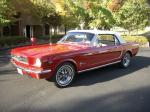 1965 FORD MUSTANG CONVERTIBLE - Front 3/4 - 20308