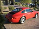 1997 PORSCHE 911 CARRERA - Rear 3/4 - 20350