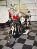 1942 INDIAN IN LINE MOTORCYCLE - Front 3/4 - 20492