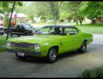 1973 PLYMOUTH DUSTER HEMI COUPE -  - 20581