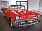 1957 CHEVROLET BEL AIR CONVERTIBLE - Front 3/4 - 20590
