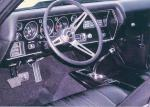 1970 CHEVROLET CHEVELLE LS6 COUPE - Interior - 20735
