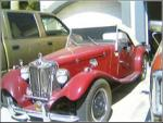 1957 MG TD 2 DOOR ROADSTER RE-CREATION - Front 3/4 - 20834