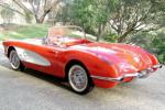 1960 CHEVROLET CORVETTE FI CONVERTIBLE - Rear 3/4 - 20967