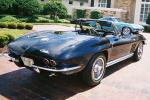 1965 CHEVROLET CORVETTE 327 CONVERTIBLE - Rear 3/4 - 20975