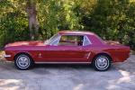 1966 FORD MUSTANG COUPE - Front 3/4 - 21024