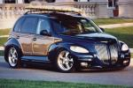 2001 CHRYSLER PT CRUISER CUSTOM WOODY BEACH CRUISER - Front 3/4 - 21044