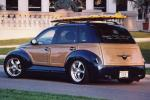 2001 CHRYSLER PT CRUISER CUSTOM WOODY BEACH CRUISER - Rear 3/4 - 21044