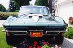 1967 CHEVROLET CORVETTE 427/400 AIR COUPE - Side Profile - 21062