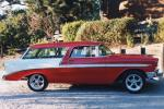 1956 CHEVROLET NOMAD CUSTOM STATION WAGON - Side Profile - 21113