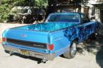 1967 CHEVROLET EL CAMINO PICKUP - Rear 3/4 - 21119