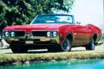 1969 OLDSMOBILE 442 W32 CONVERTIBLE - Front 3/4 - 21200