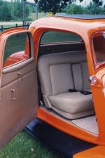 1934 FORD 3 WINDOW COUPE STREET ROD - Interior - 21211