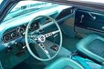 1966 FORD MUSTANG CUSTOM COUPE - Interior - 212394