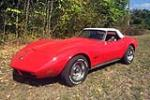 1974 CHEVROLET CORVETTE 327/350 CONVERTIBLE - Front 3/4 - 212730