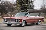 1963 CHRYSLER CROWN IMPERIAL CONVERTIBLE - Front 3/4 - 212835