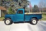 1955 WILLYS JEEP PICKUP - Side Profile - 212875