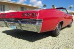 1965 CHEVROLET IMPALA SS CONVERTIBLE - Rear 3/4 - 21314
