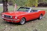 1966 FORD MUSTANG CONVERTIBLE - Side Profile - 213324