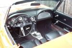 1963 CHEVROLET CORVETTE FI STINGRAY CONVERTIBLE - Interior - 21443