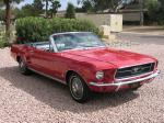 1967 FORD MUSTANG CONVERTIBLE - Front 3/4 - 21674