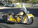 1948 INDIAN CHIEF ROADMASTER MOTORCYCLE - Side Profile - 22162