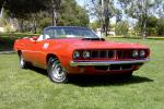 1971 PLYMOUTH BARRACUDA HEMI CONVERTIBLE RE-CREATION - Front 3/4 - 22169
