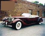 1934 PACKARD BAYLIFF CUSTOM CONVERTIBLE - Front 3/4 - 22173