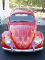 1959 VOLKSWAGEN CUSTOM BUG BUS - Side Profile - 22192