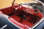 1957 CHEVROLET CORVETTE FI CONVERTIBLE - Interior - 22226