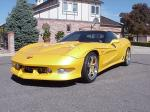 2002 CHEVROLET CORVETTE ZO6 CUSTOM COUPE - Front 3/4 - 22362