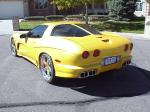 2002 CHEVROLET CORVETTE ZO6 CUSTOM COUPE - Rear 3/4 - 22362