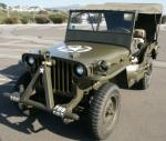 1944 FORD JEEP PREVIOUSLY OWNED BY FRANK SINATR - Front 3/4 - 22444