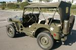 1944 FORD JEEP PREVIOUSLY OWNED BY FRANK SINATR - Rear 3/4 - 22444
