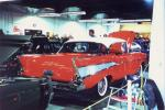 1957 CHEVROLET BEL AIR COUPE - Rear 3/4 - 23023