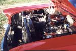 1957 CHEVROLET BEL AIR HARDTOP COUPE - Engine - 23024
