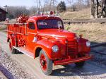 1942 INTERNATIONAL CALLIOPE SPECIAL FIRE TRUCK - Front 3/4 - 23097