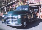 1953 CHEVROLET SHORT BOX 5-WINDOW PICKUP - Front 3/4 - 23653