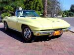 1966 CHEVROLET CORVETTE 427/425 CONVERTIBLE - Front 3/4 - 23684