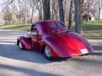 1941 WILLYS STREET ROD COUPE - Rear 3/4 - 24091